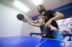 teaching kids ping pong