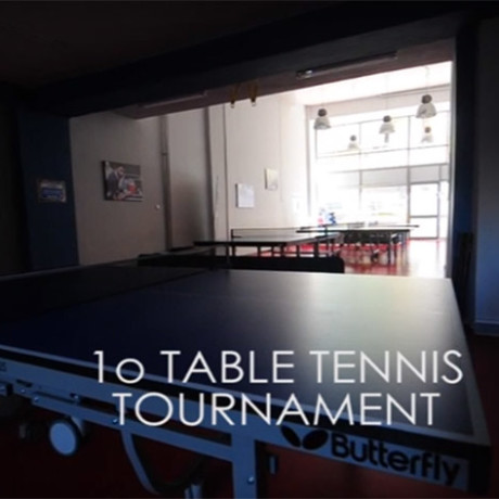 1ο Table tennis tournament 2016